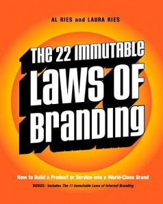 the 22 laws of branding
